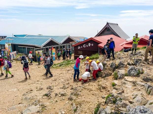 Mount-Ibuki-Summit-Stores