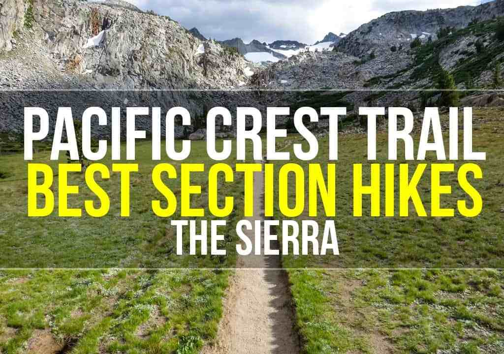 PCT Sierra Hiking Trail Featured