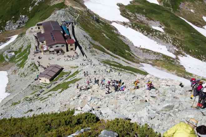Tateyama Trail Crowd