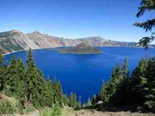 PCT Oregon Crater Lake