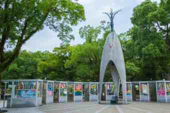 Japan-Hiroshima-Park-Memorial-Morning