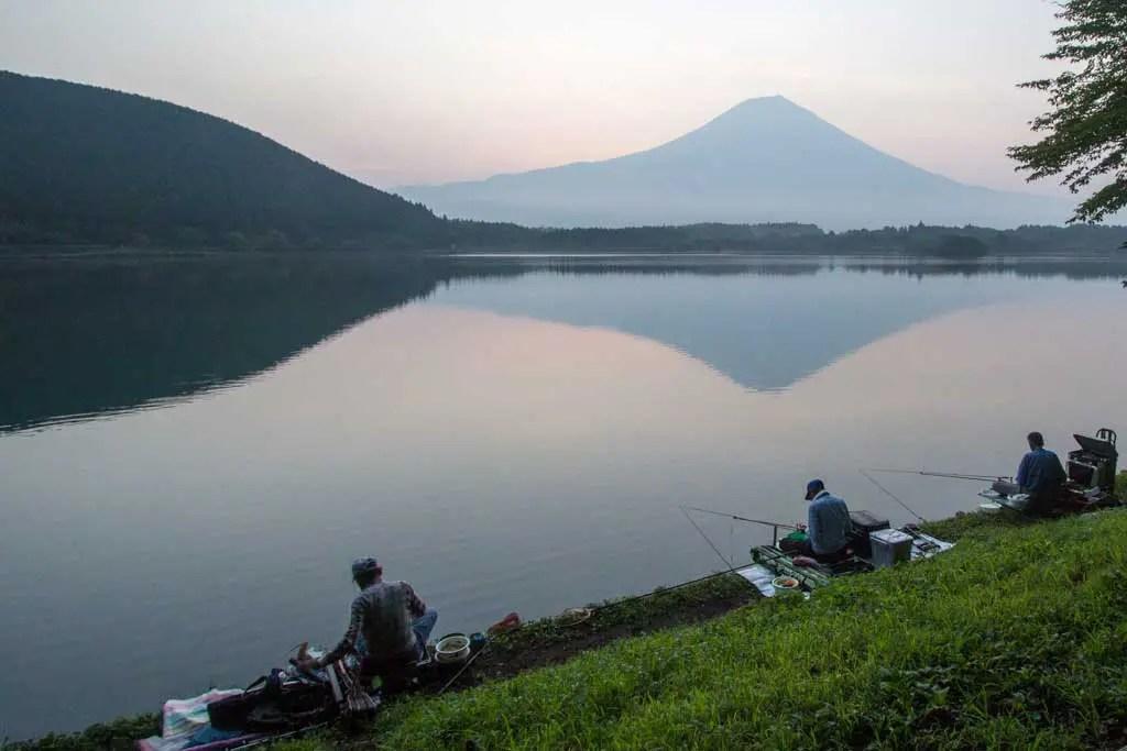 Japan-Shizuoka-Fuji-Morning