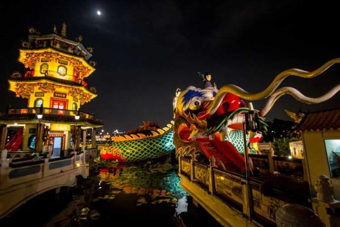 Taiwan Kaosiung Lotus Pond