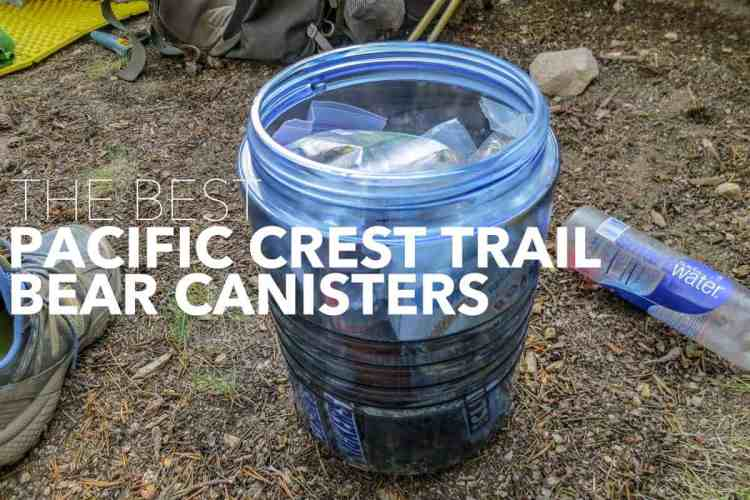 Best PCT Bear Canisters