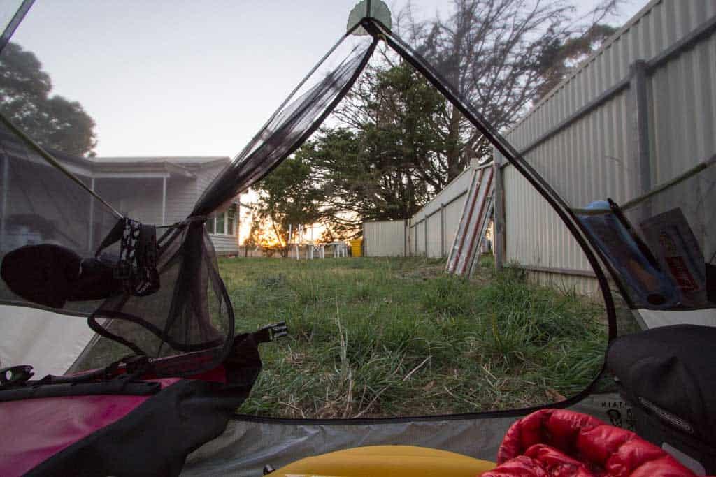 Australia-Bike-Tent-Yard