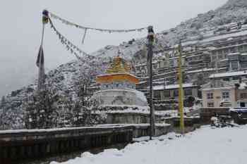 Nepal-EBC-Namche-Bazaar-Stupa