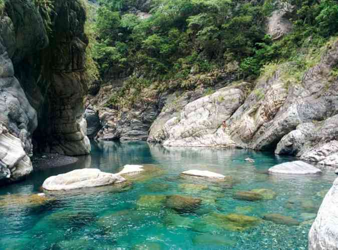 Taiwan-Haulien-River-Pools