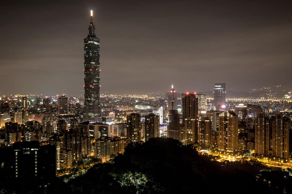 Taiwan-Taiepi-Night
