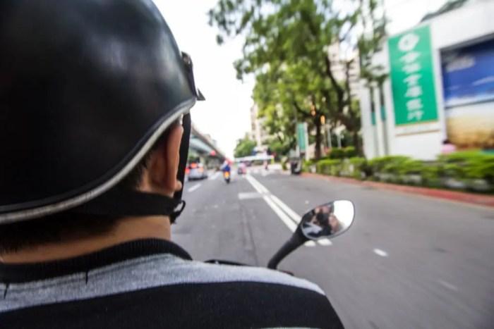 Taiwan-Taipei-Scooter