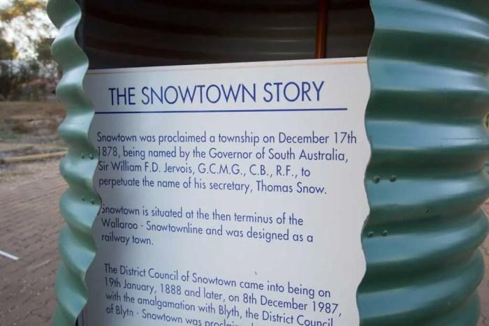 Australia-Snowtown-Story