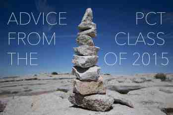 Advice From The PCT Class Of 2015