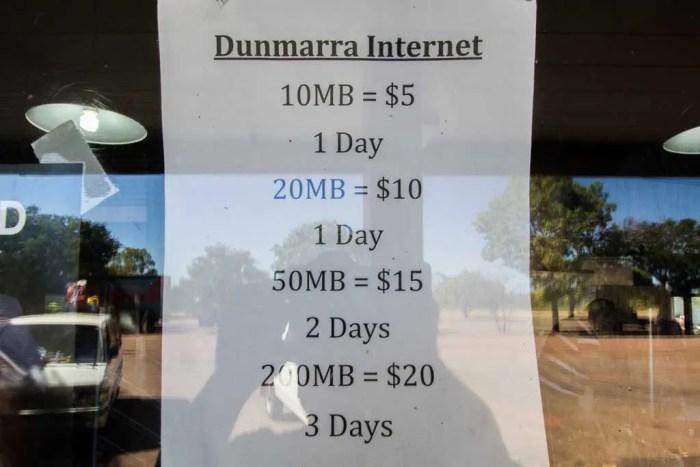australia-bike-tour-internet-sign
