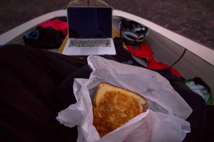 australia-bike-tour-tent-food-3
