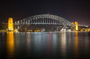 Australia-Sydney-Harbour-Bridge-Night