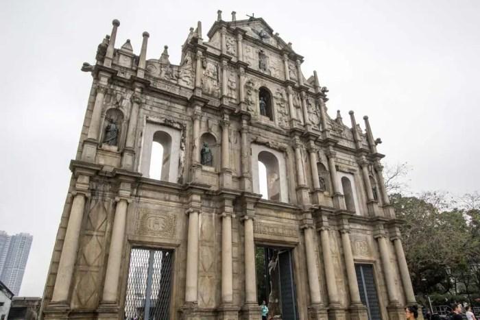 Macau-St-Pauls-Ruins