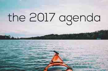 2017: What's On The Agenda