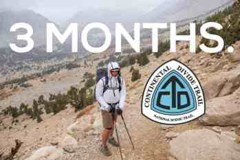 The Continental Divide Trail: Three Months Out