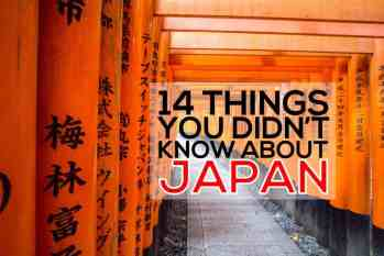 14 Things You Didn't Know About Japan