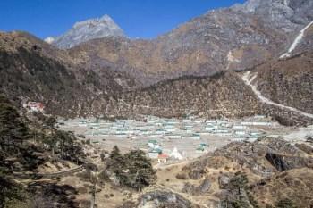 Nepal-Khunde-View