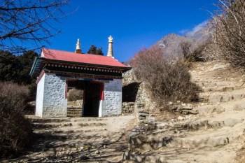 Nepal-Tengboche-Arrival-Gate