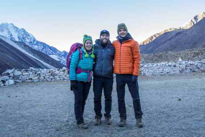 Nepal-Dingboche-Olga-Pavel-Mac
