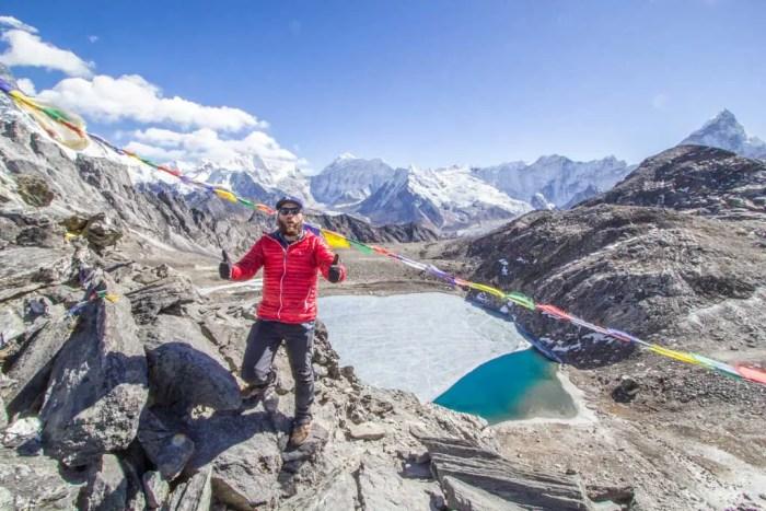 Nepal-Kongma-La-Summit