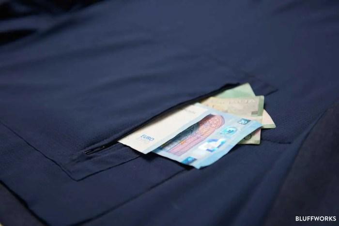 Bluffworks Gramercy Blazery Pocket