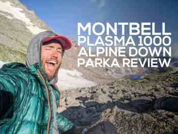 Montbell Plasma 1000 Alpine Down Parka Review