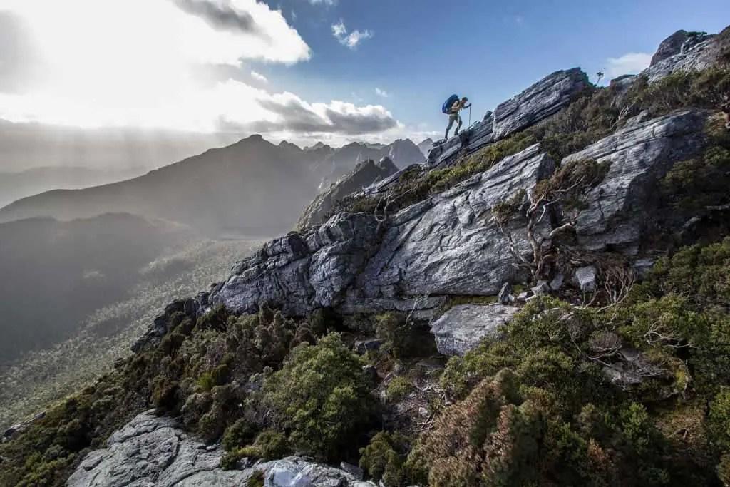Australia-Tasmania-Western-Arthurs-Hiker