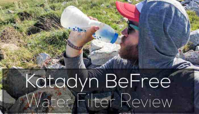 Katadyn BeFree Water Filter Review