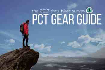 The PCT Gear Guide: Class of 2017 Survey