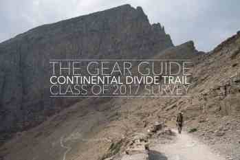 The CDT Gear Guide: Class of 2017 Survey