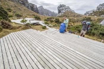 Tasmania-Western-Arthurs-High-Moor-Campsite