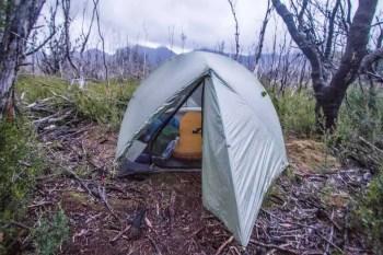 Tasmania-Western-Arthurs-Junction-Creek-Campsite