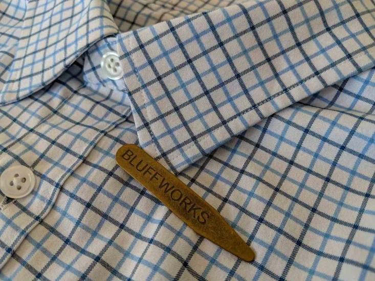 Bluffworks Meridian Dress Shirt 2.0 Collar Stay