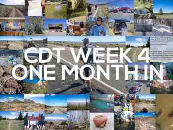 Continental Divide Trail Week 4: One Month In