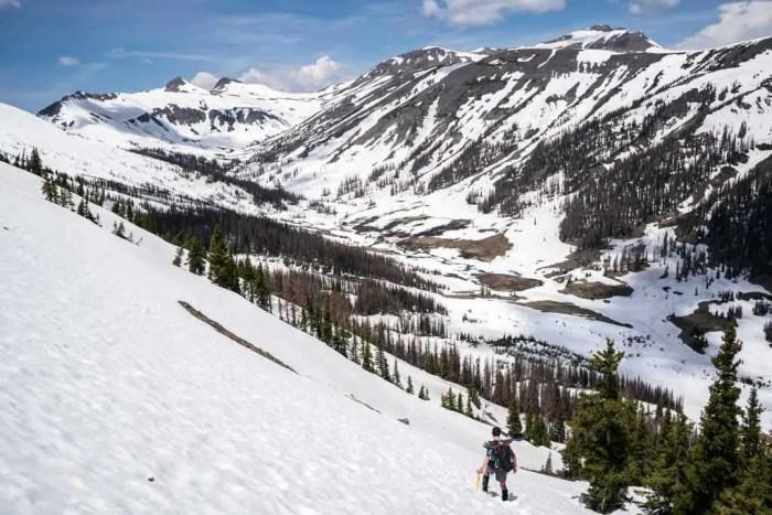 CDT-Colorado-Moist-Snowy-Hillside-Ice-Axe