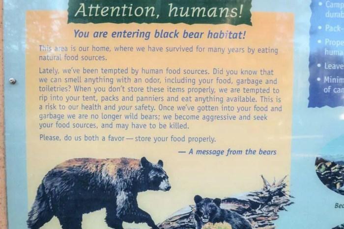 PCT-Black-Bear-Sign