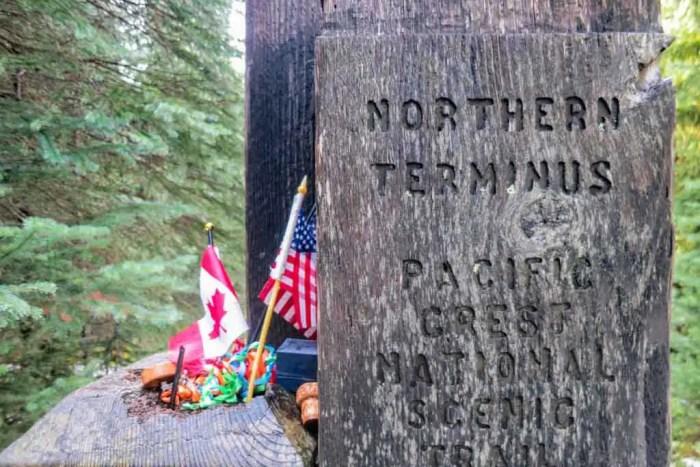 PCT-Washington-Canada-Northern-Terminus-Close