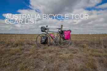 Australia Bike Touring Gear List