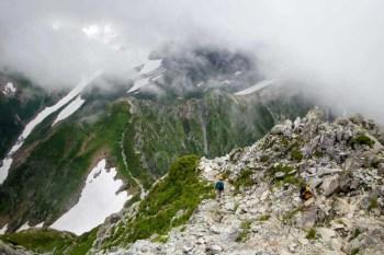 Japan-Kita-ALps-Mount-Tsurugi-Traverse