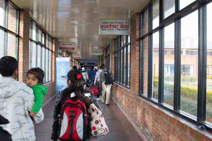 Nepal-Kathmandu-Airport-International-Terminal-Hallway