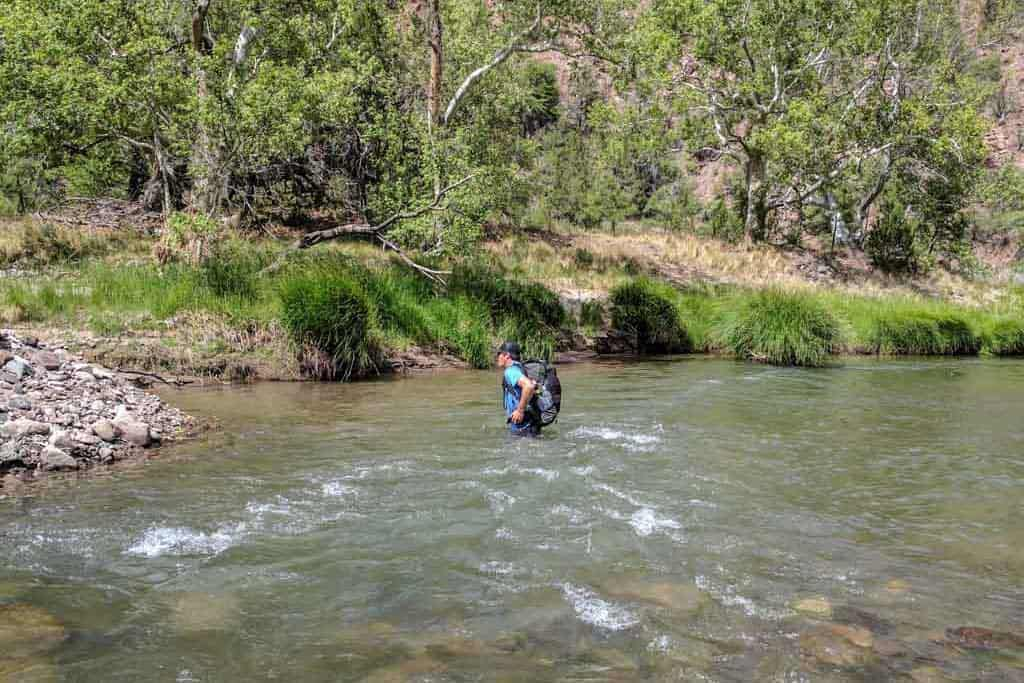 CDT-New-Mexico-Gila-Moist-River-Crossing