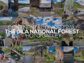 Continental Divide Trail In Photos: The Gila