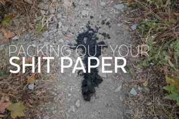 Packing Out Your Poo-covered Toilet Paper