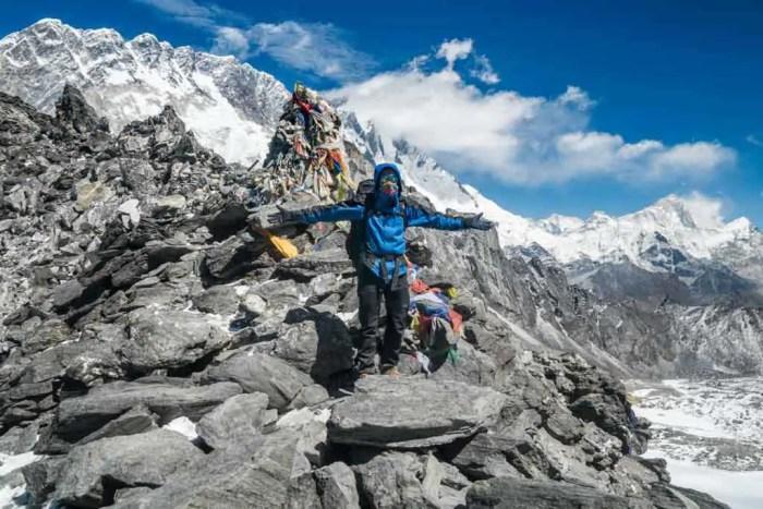 Nepal Kongma La Top