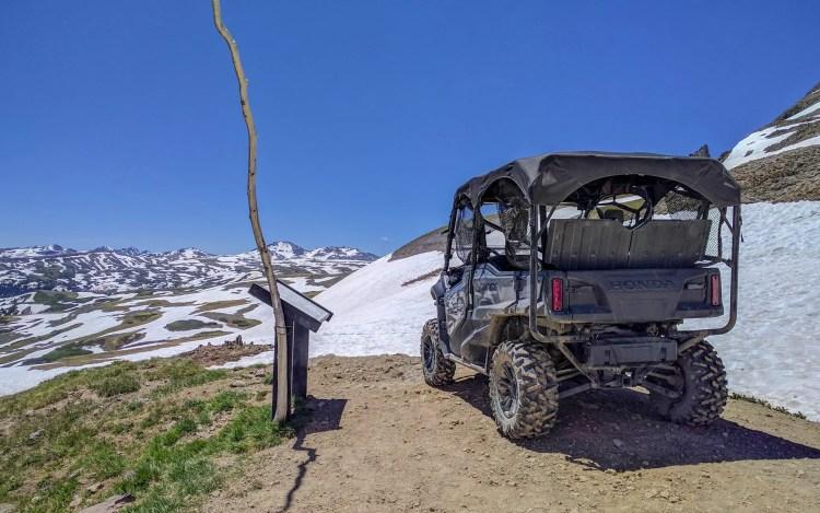 CDT Stony Pass ATV