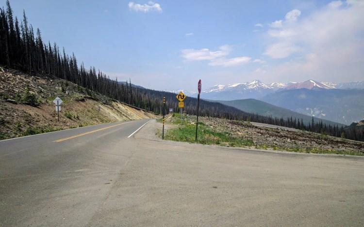 CDT Colorado Lake City Road