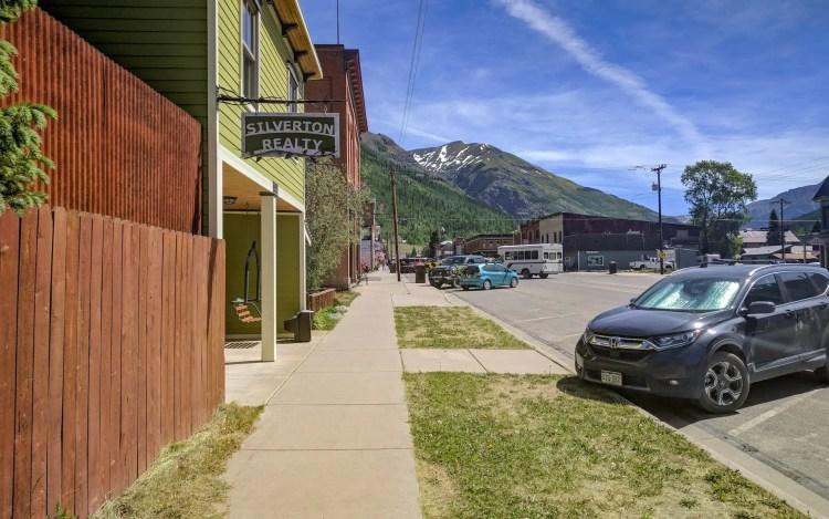 CDT Silverton, Colorado Streets