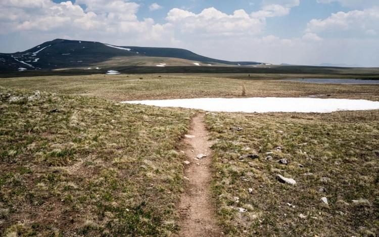 CDT Colorado Snow Mesa